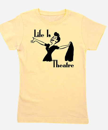 Life Is Theatre Retro Theater T-Shirt