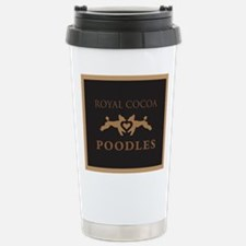 Cute Chocolate poodle Travel Mug