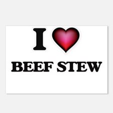 I love Beef Stew Postcards (Package of 8)