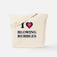 I love Blowing Bubbles Tote Bag
