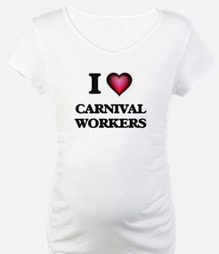 I love Carnival Workers Shirt