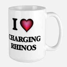 I love Charging Rhinos Mugs