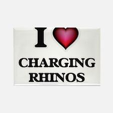 I love Charging Rhinos Magnets