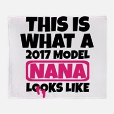 THIS IS WHAT A 2017 MODEL NANA LOOKS LIKE Throw Bl