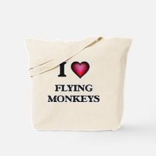 I love Flying Monkeys Tote Bag