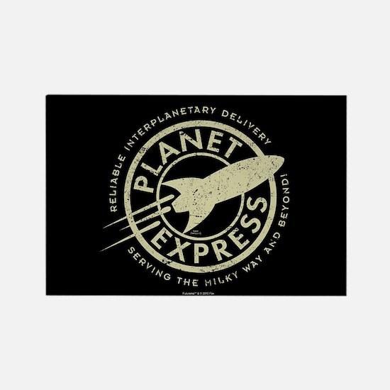 Planet Express Logo Rectangle Magnet