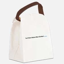 Clickbait Canvas Lunch Bag