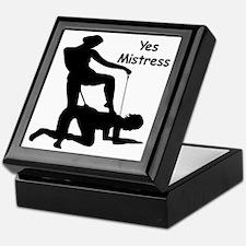 Yes Mistress #0033 Keepsake Box