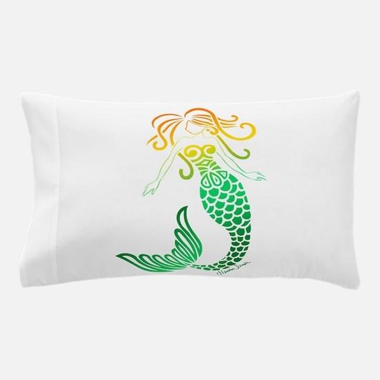 Angie's Orange Blossom Mermaid Pillow Case