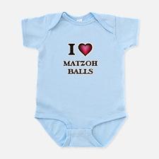 I love Matzoh Balls Body Suit
