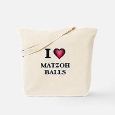 I love Matzoh Balls Tote Bag