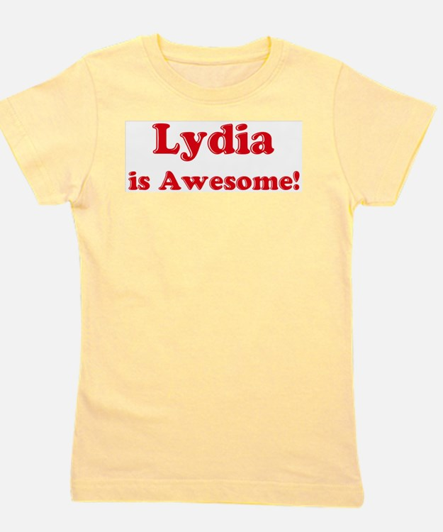 Lydia is Awesome Ash Grey T-Shirt