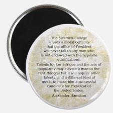Alexander Hamilton Federalist 68 Magnets