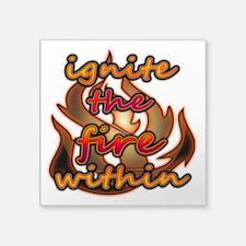 """Ignite 2 Square Sticker 3"""" x 3"""""""