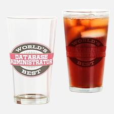 database administrator Drinking Glass