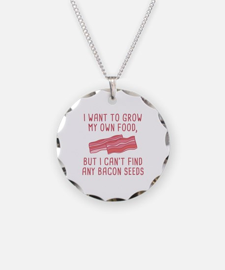 Bacon Seeds Necklace