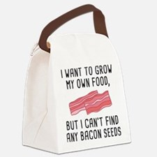 Bacon Seeds Canvas Lunch Bag