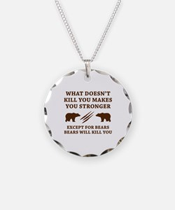 Except For Bears Necklace