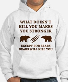 Except For Bears Hoodie