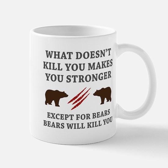 Except For Bears Mug
