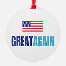 Great Again Flag Ornament