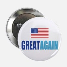 """Great Again Flag 2.25"""" Button (10 pack)"""