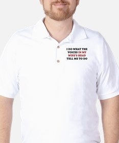 Tell Me To Do Golf Shirt