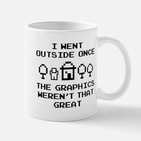 I Went Outside Once Mug