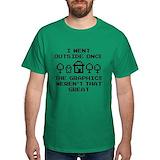 Gaming Mens Classic Dark T-Shirts