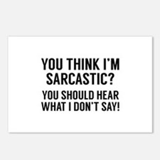 Sarcastic Postcards (Package of 8)