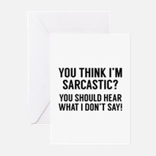 Sarcastic Greeting Cards (Pk of 10)