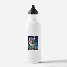 Banjo Chicken Moon Water Bottle