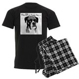 Boxer Men's Dark Pajamas