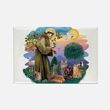 St Francis / 4 Cats Magnets