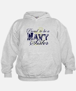 Proud Navy Sister Sweatshirt
