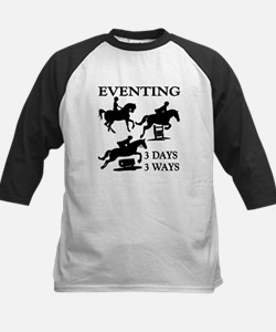 EVENTING 3 Day 3 Ways Baseball Jersey