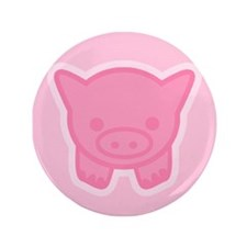 "Pigling Front 3.5"" Button"