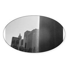 Crown Fountain, Chicago Oval Decal