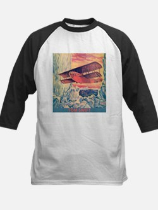 Flying Boat Baseball Jersey