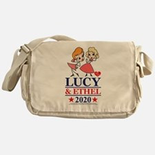 Lucy and Ethel 2020 Messenger Bag