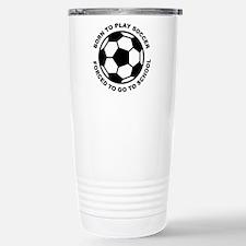 Funny Futbol Travel Mug