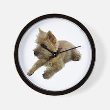 Cairn Terrier Puppy Wall Clock