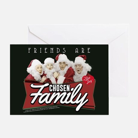 I Love Lucy: Friends Greeting Card