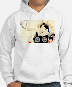 Mizuno Toshikata Courtesan - Asian Art Sweatshirt