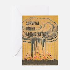 Funny Atomic Greeting Card