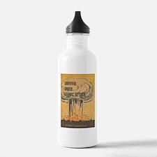 Vintage poster - Survi Water Bottle