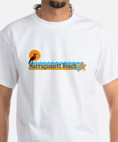 Narragansett RI - Beach Design T-Shirt