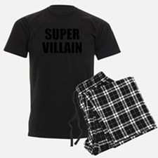 Super Villain W Pajamas