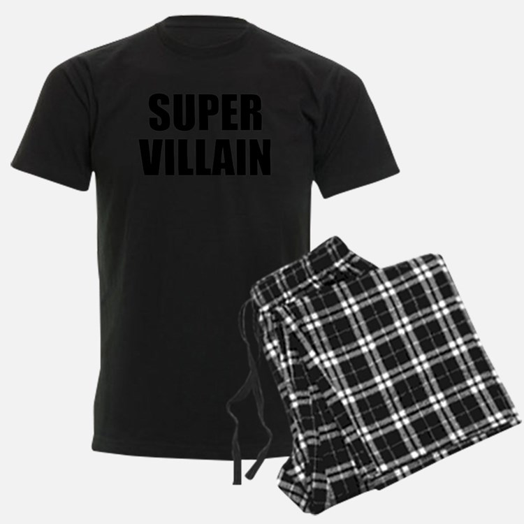 Super Villain W Pajamas