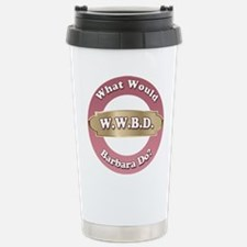 WWBD-Barbara Travel Mug